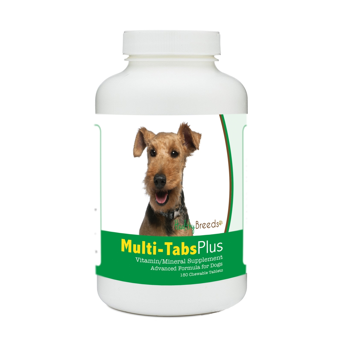 Healthy Breeds 840235176527 Welsh Terrier Multi-Tabs Plus Chewable Tablets - 180 Count