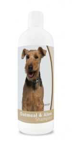 Healthy Breeds 840235176534 16 oz Welsh Terrier Oatmeal Shampoo with Aloe