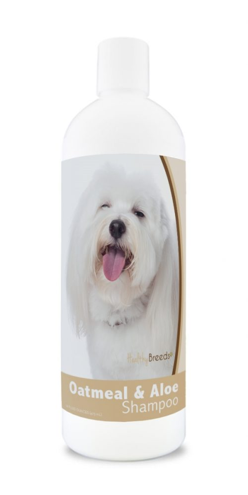 Healthy Breeds 840235176725 16 oz Coton de Tulear Oatmeal Shampoo with Aloe
