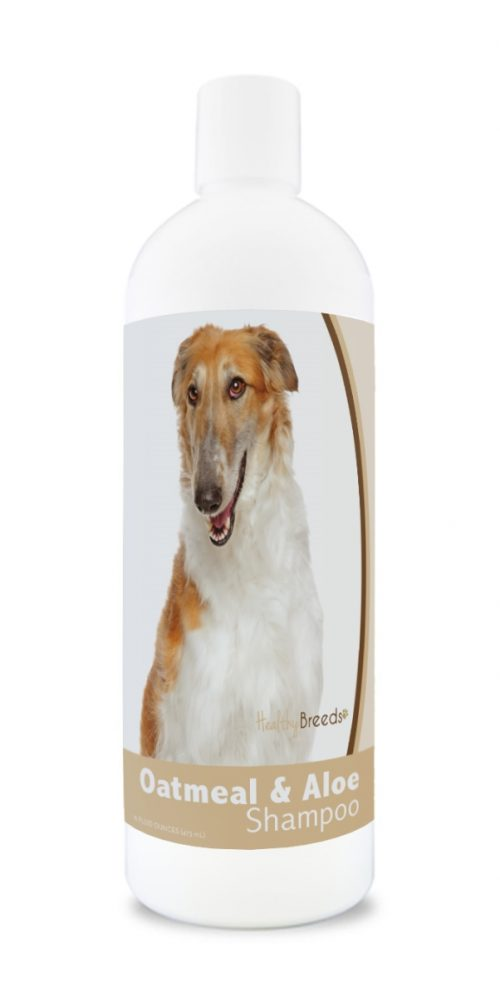 Healthy Breeds 840235176862 16 oz Borzois Oatmeal Shampoo with Aloe