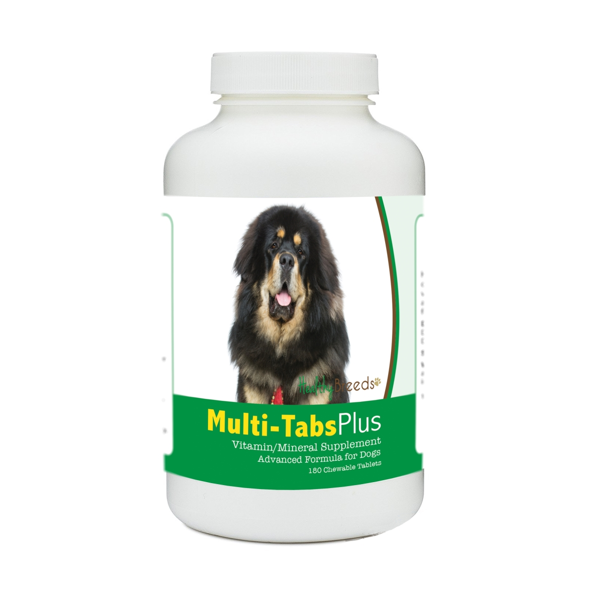 Healthy Breeds 840235177050 Tibetan Mastiff Multi-Tabs Plus Chewable Tablets - 180 Count