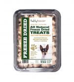 Healthy Breeds 840235177227 8 oz Toy Fox Terrier All Natural Freeze Dried Treats Chicken Breast