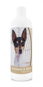 Healthy Breeds 840235177241 16 oz Toy Fox Terrier Oatmeal Shampoo with Aloe