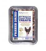 Healthy Breeds 840235177272 10 oz Toy Fox Terrier All Natural Freeze Dried Treats Beef Liver