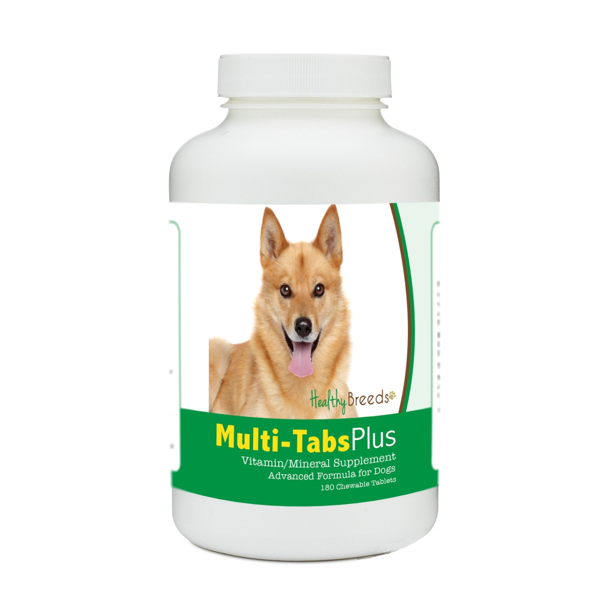 Healthy Breeds 840235177333 Finnish Spitz Multi-Tabs Plus Chewable Tablets - 180 Count