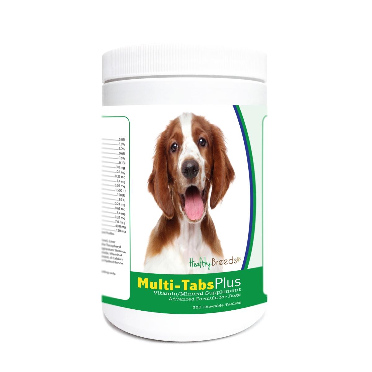Healthy Breeds 840235177418 Welsh Springer Spaniel Multi-Tabs Plus Chewable Tablets - 365 Count