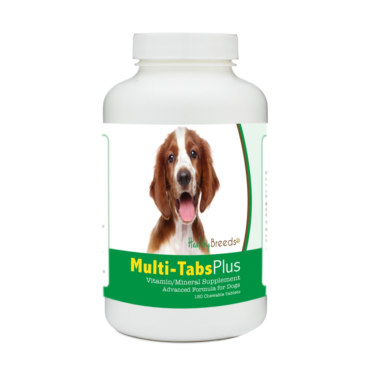 Healthy Breeds 840235177456 Welsh Springer Spaniel Multi-Tabs Plus Chewable Tablets - 180 Count
