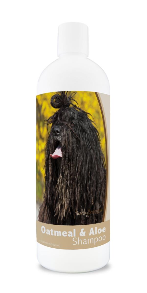 Healthy Breeds 840235177555 16 oz Bergamasco Oatmeal Shampoo with Aloe