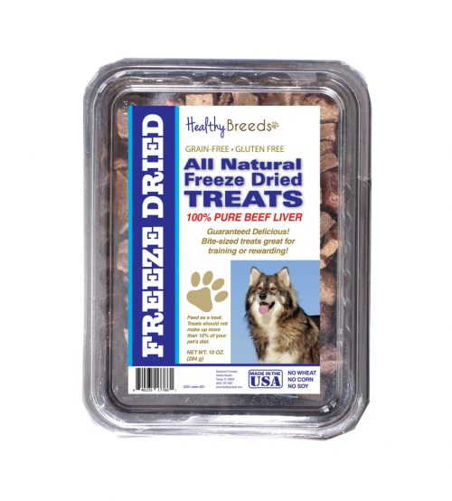 Healthy Breeds 840235177661 10 oz Utonagan All Natural Freeze Dried Treats Beef Liver