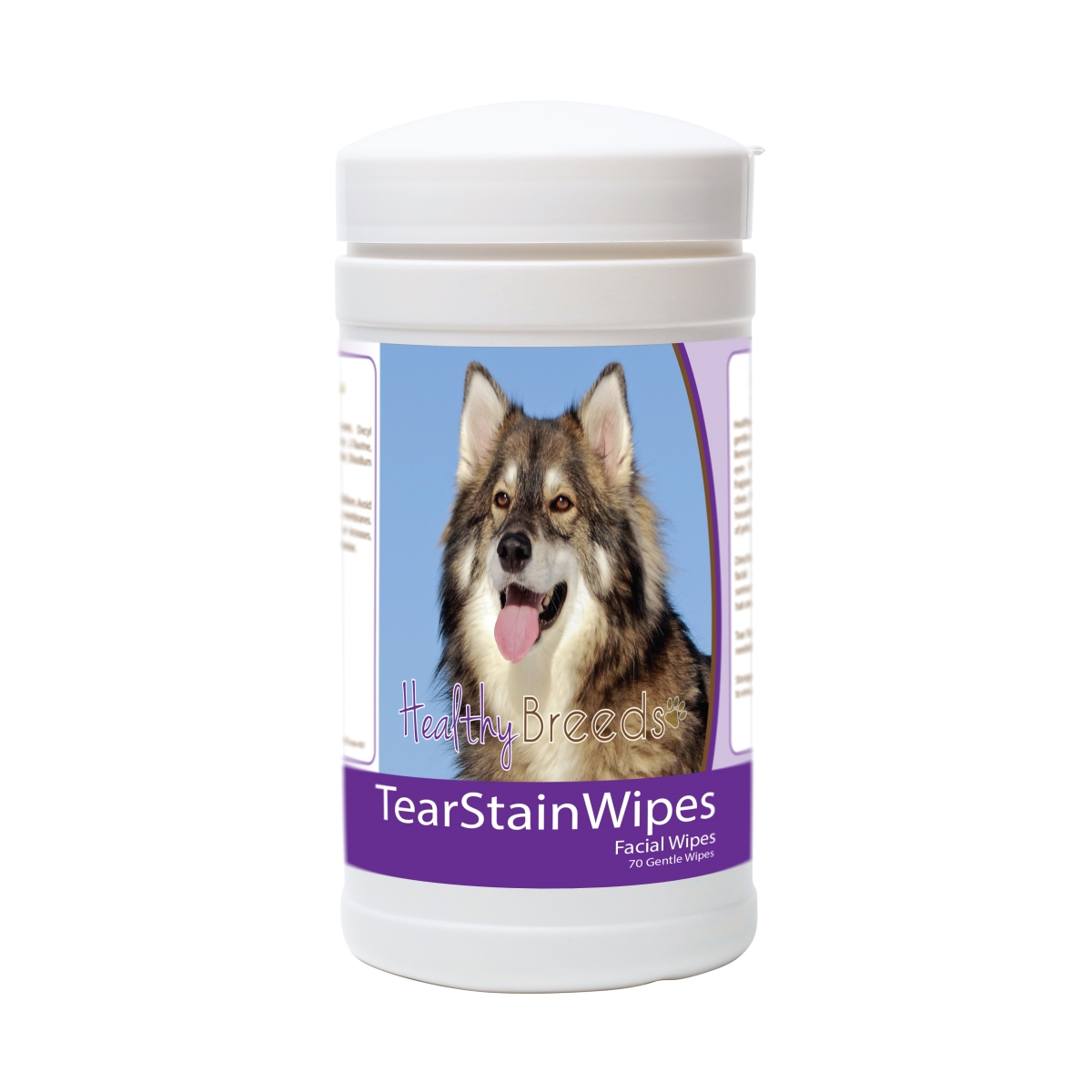 Healthy Breeds 840235177692 Utonagan Tear Stain Wipes - 70 Count