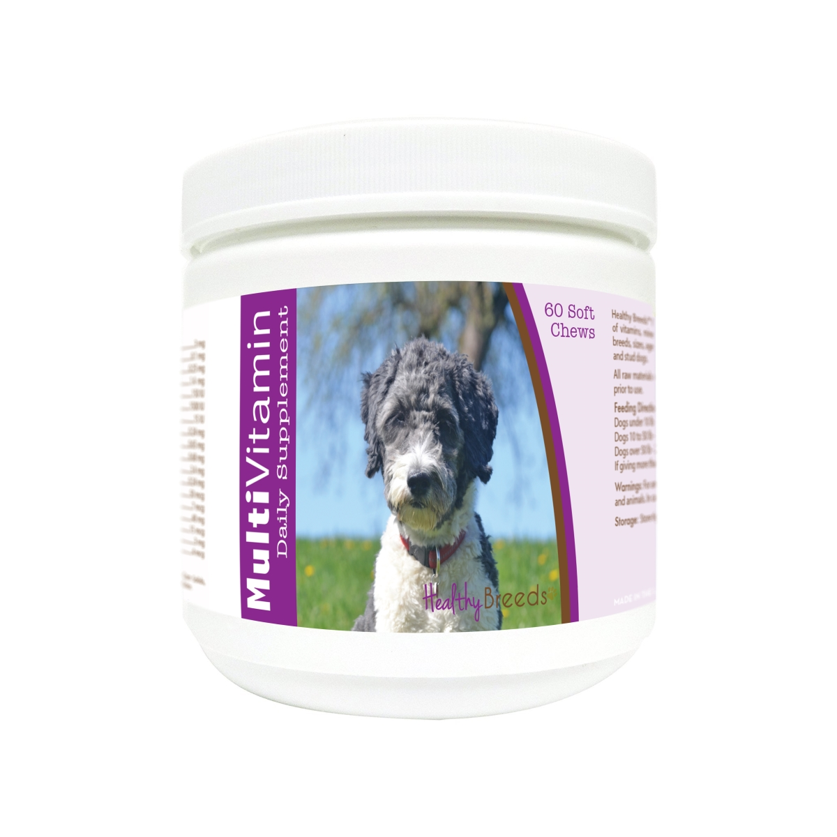 Healthy Breeds 840235177814 Aussiedoodle Multi-Vitamin Soft Chews - 60 Count