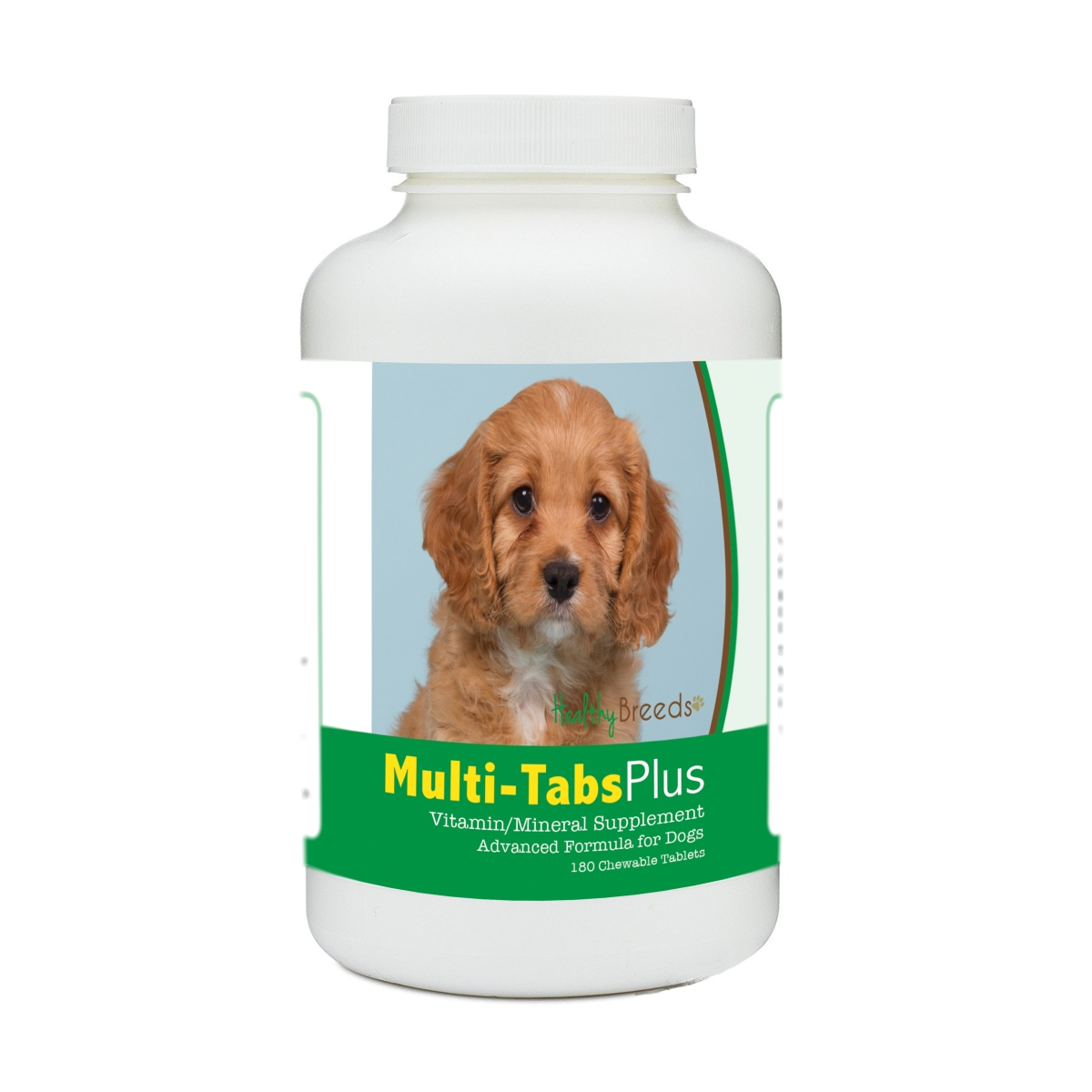 Healthy Breeds 840235177968 Cavapoo Multi-Tabs Plus Chewable Tablets - 180 Count