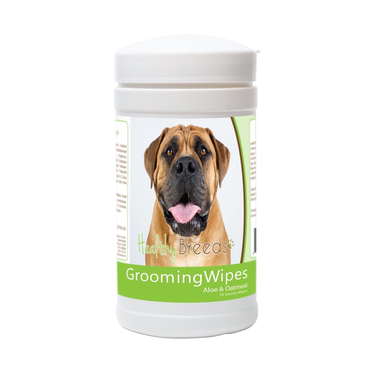 Healthy Breeds 840235178002 Boerboel Grooming Wipes - 70 Count