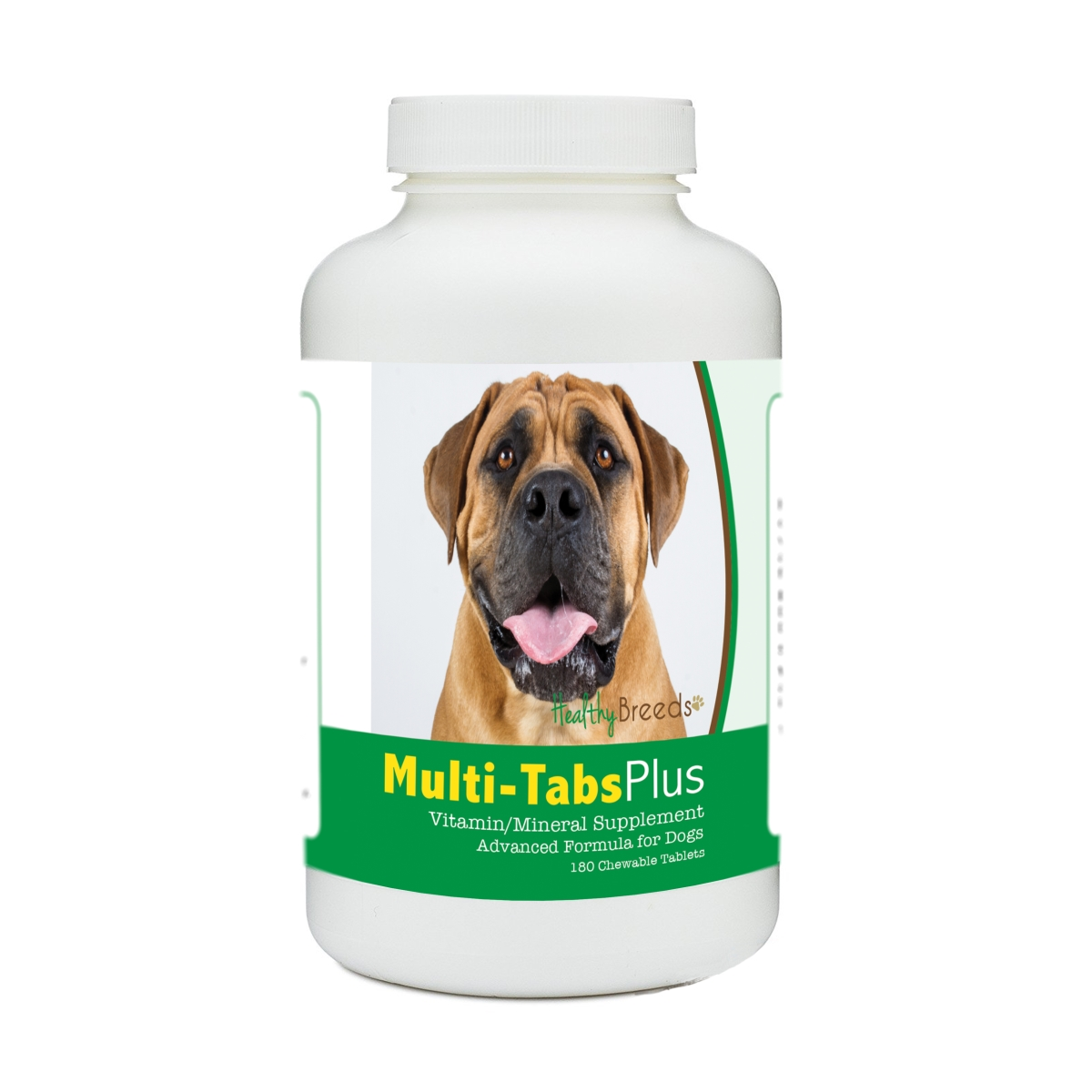 Healthy Breeds 840235178071 Boerboel Multi-Tabs Plus Chewable Tablets - 180 Count