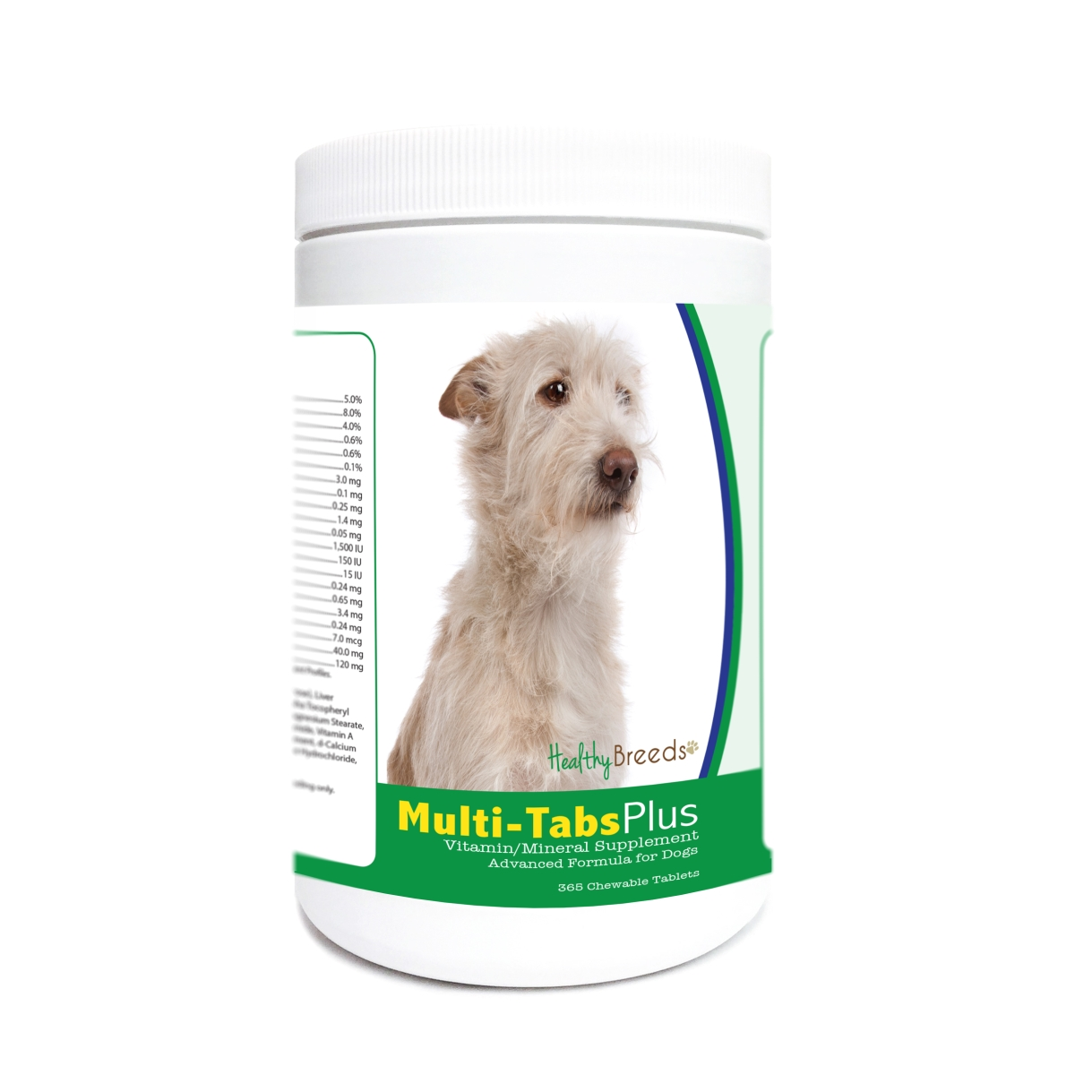 Healthy Breeds 840235178187 Portuguese Podengo Pequeno Multi-Tabs Plus Chewable Tablets - 365 Count