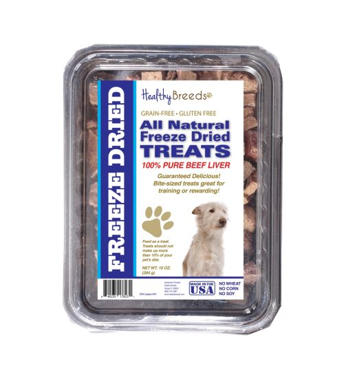 Healthy Breeds 840235178231 10 oz Portuguese Podengo Pequeno All Natural Freeze Dried Treats Beef Liver