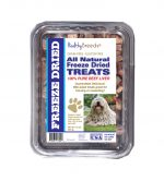 Healthy Breeds 840235178408 10 oz Komondorok All Natural Freeze Dried Treats Beef Liver