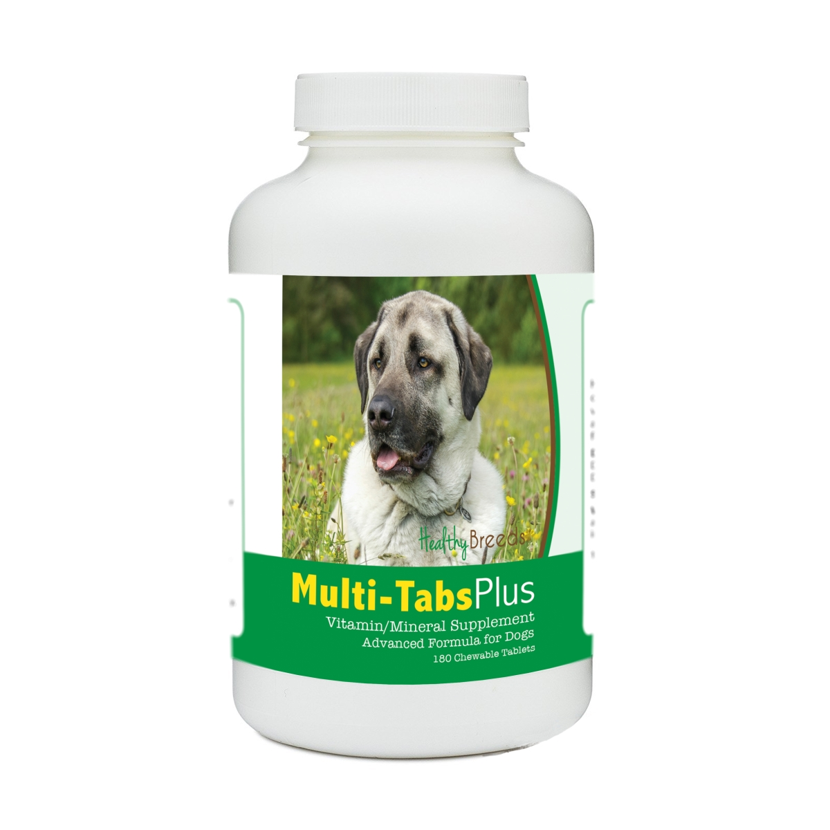 Healthy Breeds 840235178545 Anatolian Shepherd Dog Multi-Tabs Plus Chewable Tablets - 180 Count