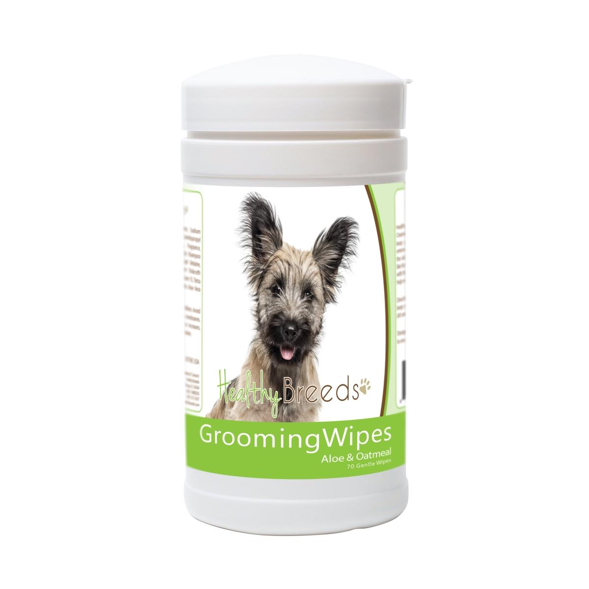 Healthy Breeds 840235178613 Skye Terrier Grooming Wipes - 70 Count