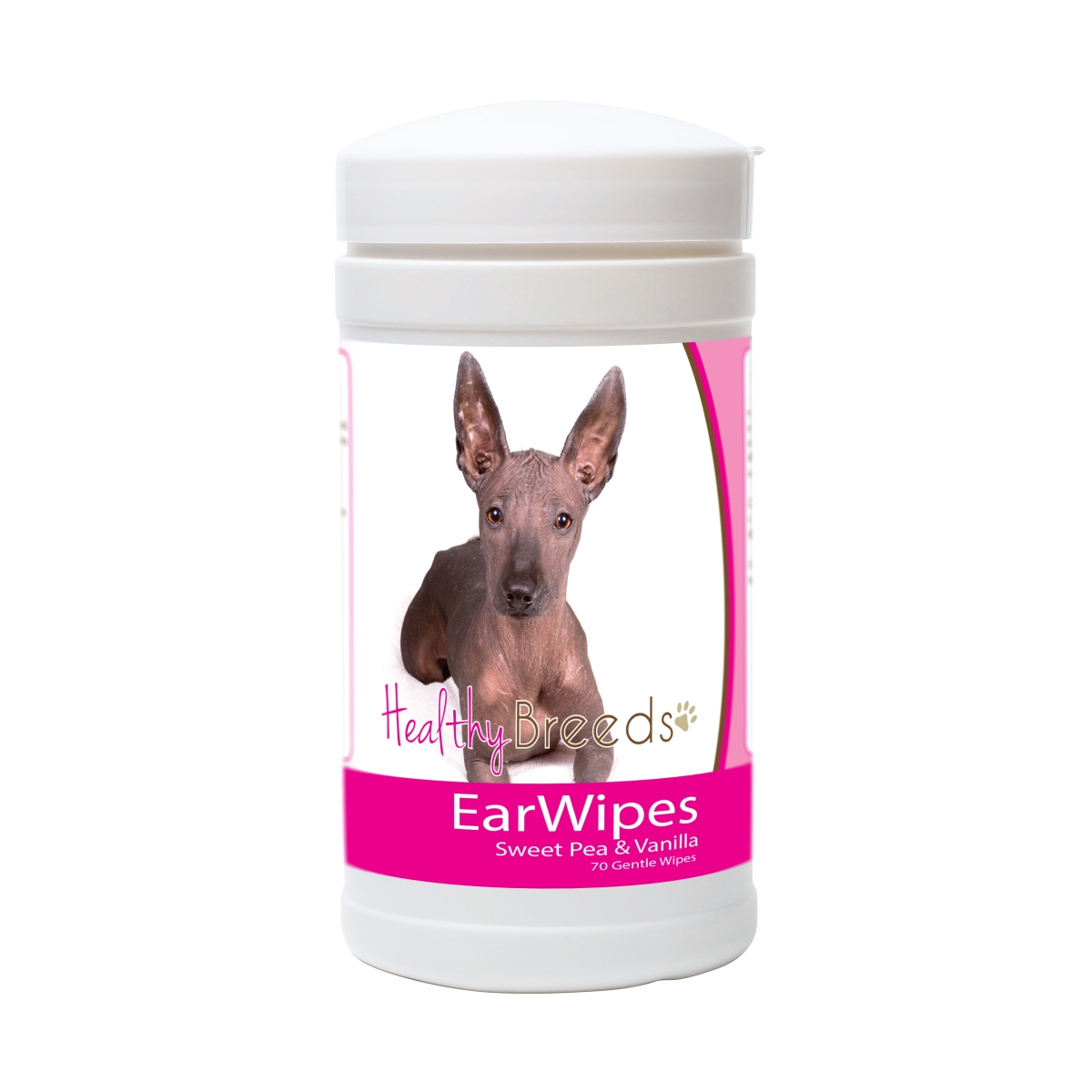 Healthy Breeds 840235178729 Xoloitzcuintli Ear Wipes - 70 Count
