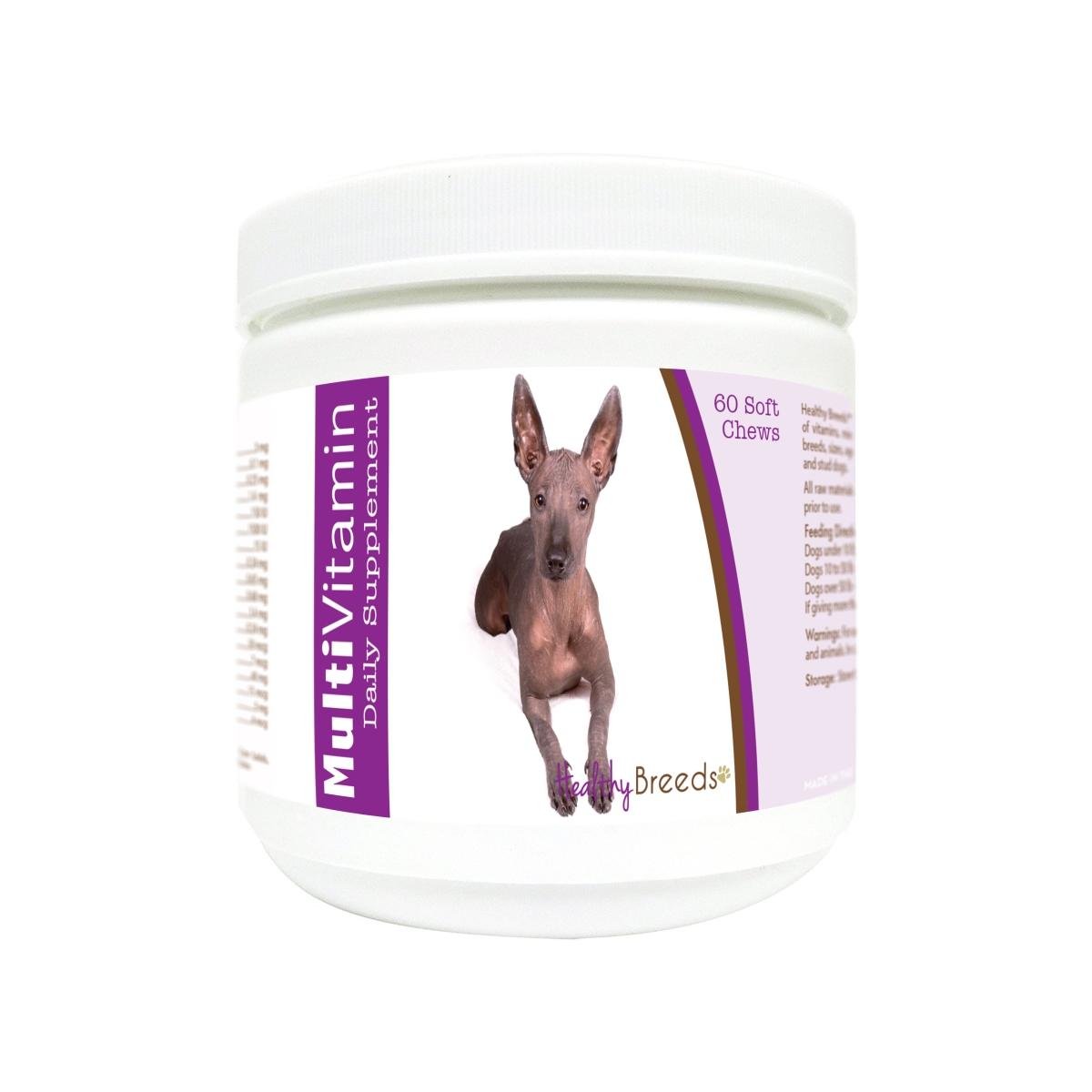 Healthy Breeds 840235178743 Xoloitzcuintli Multi-Vitamin Soft Chews - 60 Count