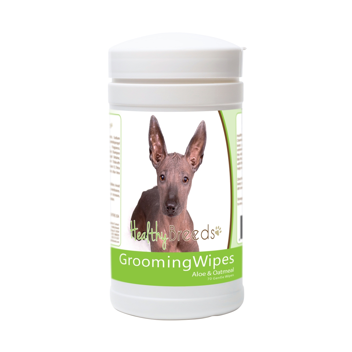 Healthy Breeds 840235178750 Xoloitzcuintli Grooming Wipes - 70 Count