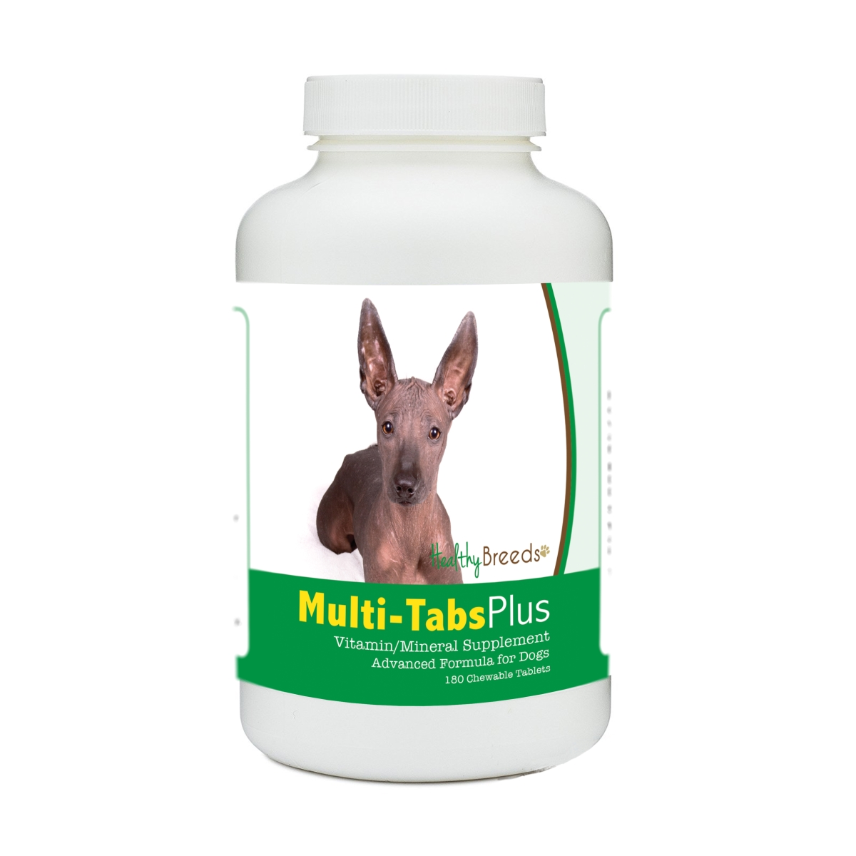Healthy Breeds 840235178804 Xoloitzcuintli Multi-Tabs Plus Chewable Tablets - 180 Count