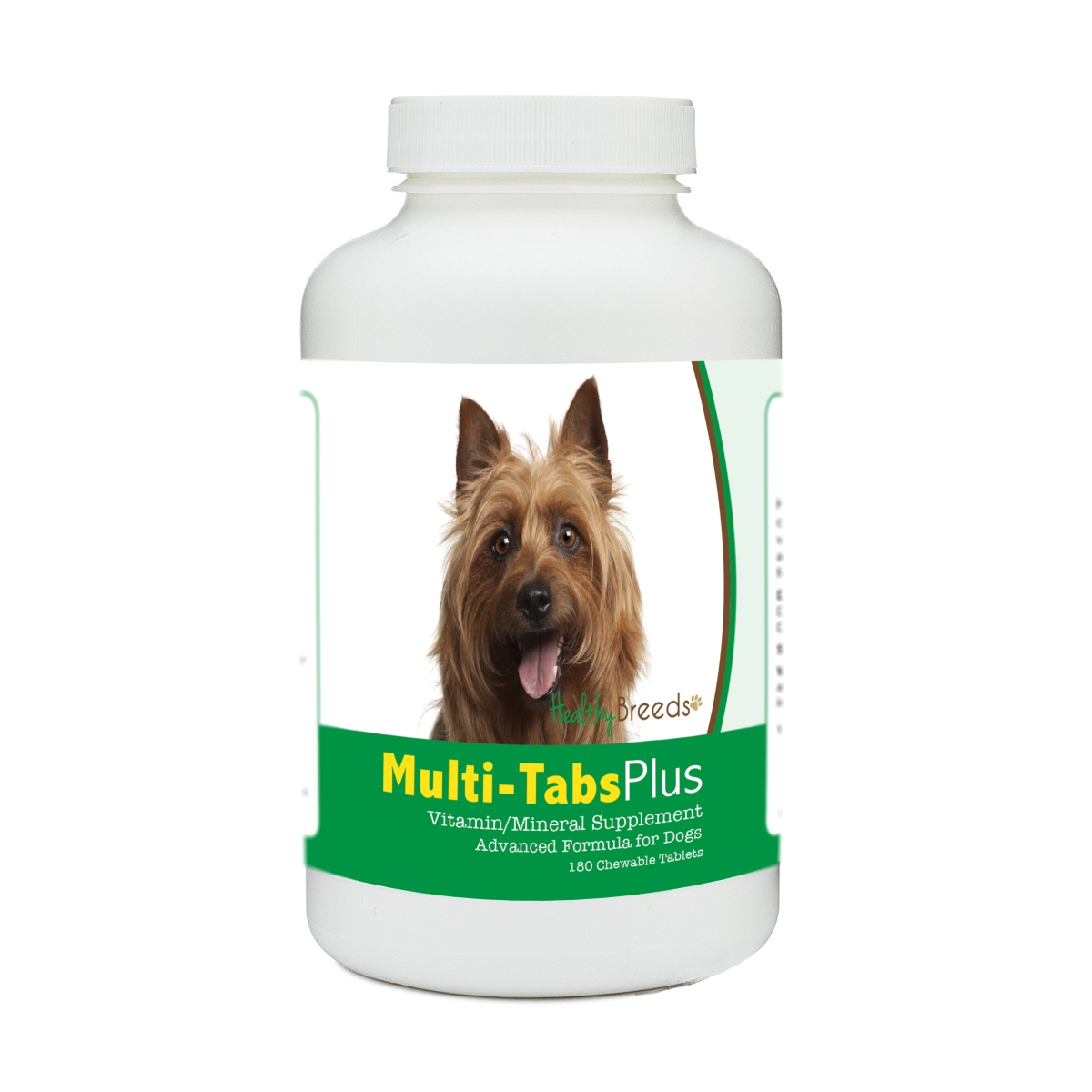 Healthy Breeds 840235178965 Australian Terrier Multi-Tabs Plus Chewable Tablets - 180 Count