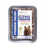 Healthy Breeds 840235178989 10 oz Australian Terrier All Natural Freeze Dried Treats Beef Liver