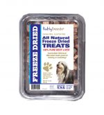 Healthy Breeds 840235179252 10 oz Bearded Collie All Natural Freeze Dried Treats Beef Liver