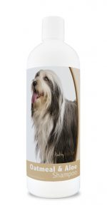 Healthy Breeds 840235179276 16 oz Bearded Collie Oatmeal Shampoo with Aloe