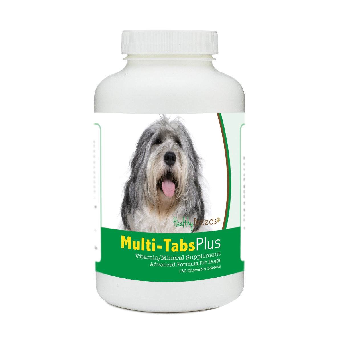 Healthy Breeds 840235179368 Polish Lowland Sheepdog Multi-Tabs Plus Chewable Tablets - 180 Count