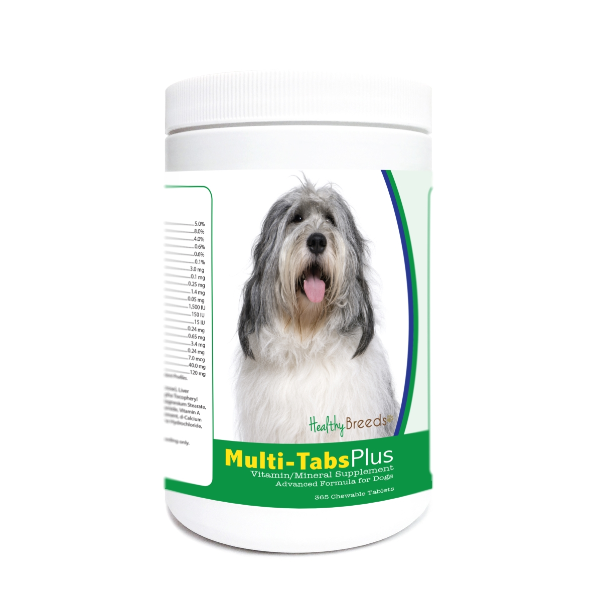 Healthy Breeds 840235179382 Polish Lowland Sheepdog Multi-Tabs Plus Chewable Tablets - 365 Count