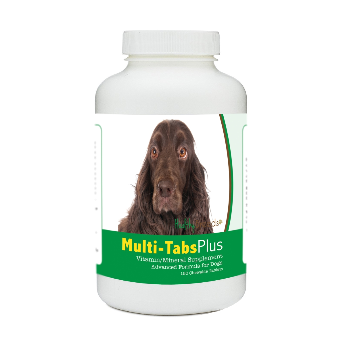 Healthy Breeds 840235179443 Field Spaniel Multi-Tabs Plus Chewable Tablets - 180 Count