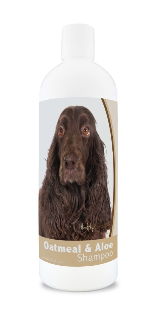 Healthy Breeds 840235179467 16 oz Field Spaniel Oatmeal Shampoo with Aloe
