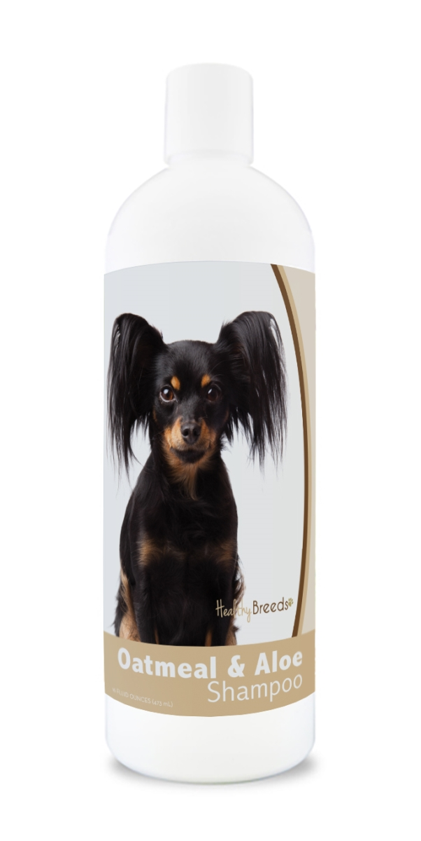 Healthy Breeds 840235179566 16 oz Russian Toy Terrier Oatmeal Shampoo with Aloe