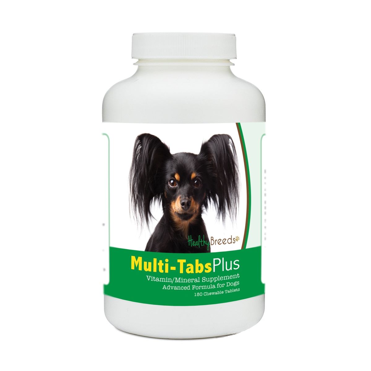 Healthy Breeds 840235179603 Russian Toy Terrier Multi-Tabs Plus Chewable Tablets - 180 Count