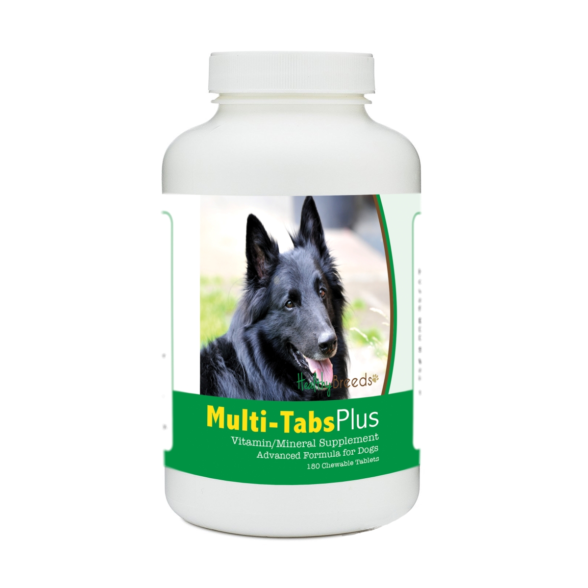 Healthy Breeds 840235179764 Belgian Sheepdog Multi-Tabs Plus Chewable Tablets - 180 Count
