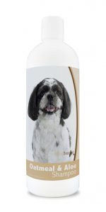 Healthy Breeds 840235179887 16 oz Shih-Poo Oatmeal Shampoo with Aloe