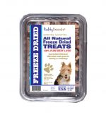 Healthy Breeds 840235180005 10 oz Wire Fox Terrier All Natural Freeze Dried Treats Beef Liver