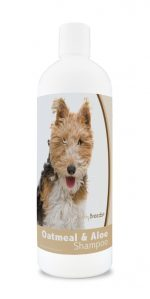 Healthy Breeds 840235180036 16 oz Wire Fox Terrier Oatmeal Shampoo with Aloe