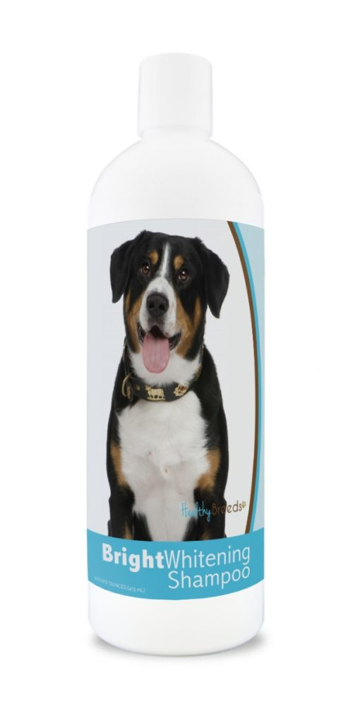 Healthy Breeds 840235180067 12 oz Entlebucher Mountain Dog Bright Whitening Shampoo