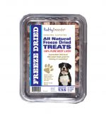 Healthy Breeds 840235180081 10 oz Entlebucher Mountain Dog All Natural Freeze Dried Treats Beef Liver