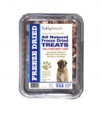 Healthy Breeds 840235180166 10 oz Leonberger All Natural Freeze Dried Treats Beef Liver