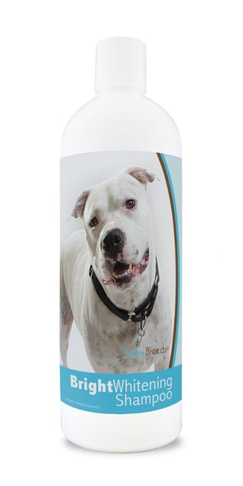 Healthy Breeds 840235180388 12 oz Pit Bull Bright Whitening Shampoo