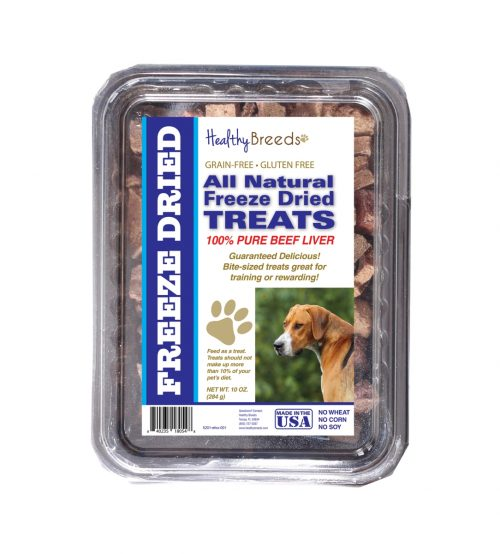 Healthy Breeds 840235180548 10 oz English Foxhound All Natural Freeze Dried Treats Beef Liver