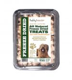 Healthy Breeds 840235180760 8 oz Briard All Natural Freeze Dried Treats Chicken Breast