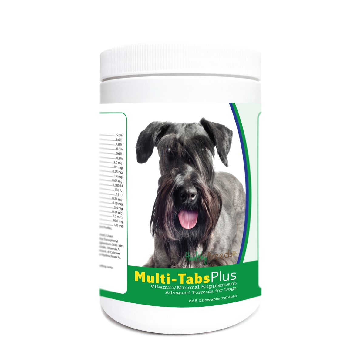 Healthy Breeds 840235180883 Cesky Terrier Multi-Tabs Plus Chewable Tablets - 365 Count