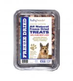 Healthy Breeds 840235180944 10 oz Berger Picard All Natural Freeze Dried Treats Beef Liver