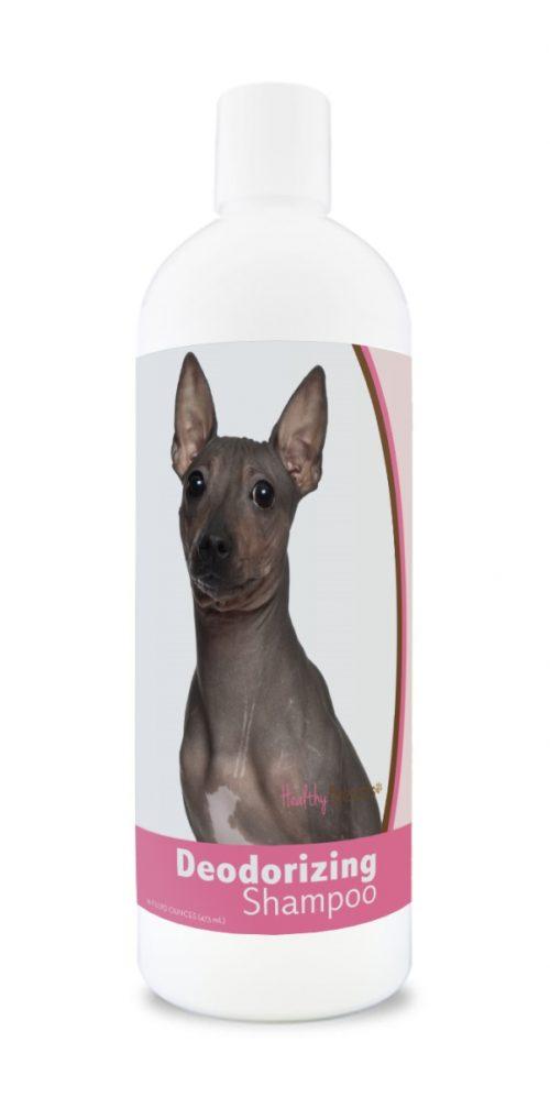 Healthy Breeds 840235181118 16 oz American Hairless Terrier Deodorizing Shampoo